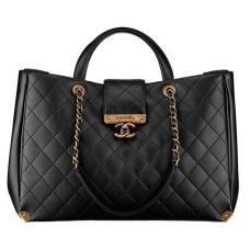BOLSA CHANEL CALFSKIN SHOPPING BAG