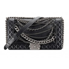 BOLSA CHANEL LE BOY ENCHAINED