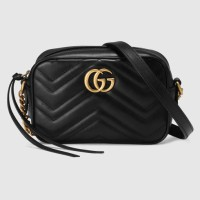 BOLSA GUCCI GG MARMONT MATELASSE MINI BAG DETAIL