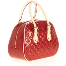 BOLSA LOUIS VUITTON VERNIS  SUMMIT DRIVE AMARANTE