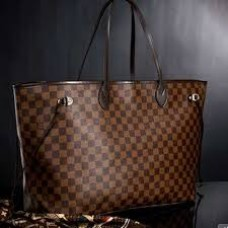 BOLSA LOUIS VUITTON NEVERFULL D. EBENE