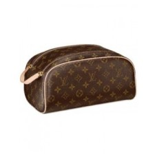 NECESSAIRE LOUIS VUITTON TOILETRY POUCH MONOGRAM COURO LEGITIMO