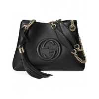 BOLSA GUCCI SOHO LEATHER SHOULDER BAG