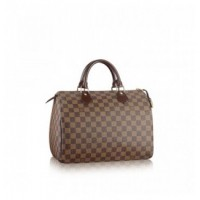 BOLSA LOUIS VUITTON SPEEDY 35 DAMIER EBENE