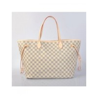 BOLSA LOUIS VUITTON NEVERFULL DAMIER AZUR