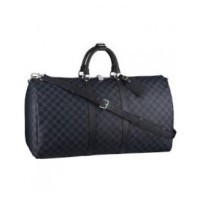 MALA LOUIS VUITTON KEEPALL 60 DAMIER COBALT